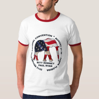 2012 GOP Convention Romney Ryan T-Shirt