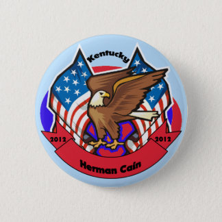 2012 Kentucky for Herman Cain 6 Cm Round Badge