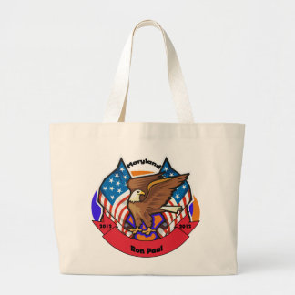 2012 Maryland for Ron Paul Canvas Bags