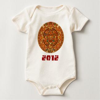 2012 Mayan Calendar Baby Bodysuit