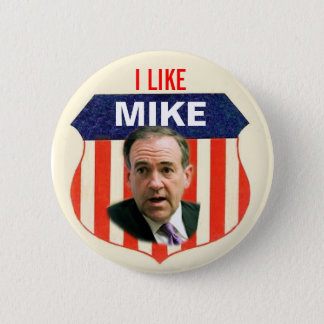2012 Mike Huckabee Button