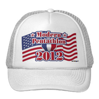 2012 Modern Pentathlon Mesh Hats
