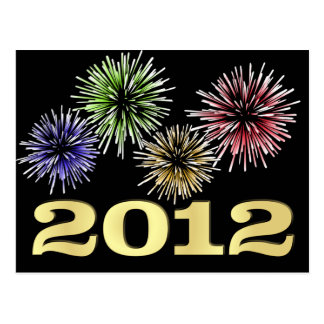 2012 New Year's Eve Party Invitations Postcard