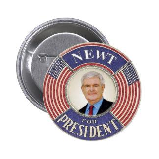 2012 Newt Gingrich Button