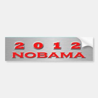 2012 Nobama Bumper Stickers