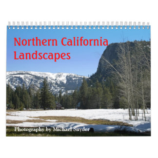 2012, Northern California Landscapes Calendar