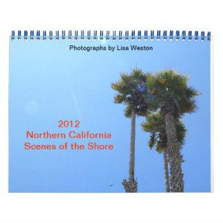 2012 Northern California Scenes of the Shore Calendar