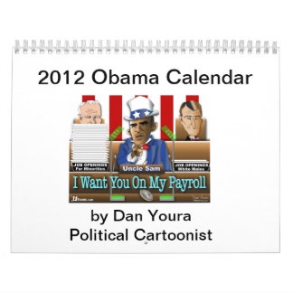 2012 Obama State of Union Calendar by Dan Youra