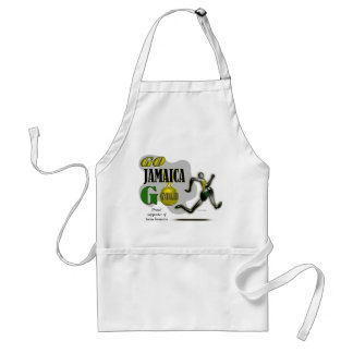 2012 Olympic Games Team Jamaica Fan Apron