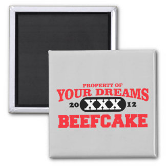 2012 only in your dreams team beefcake magnet