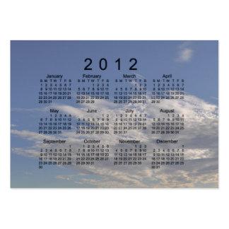 2012 Pocket Calendar Business Card