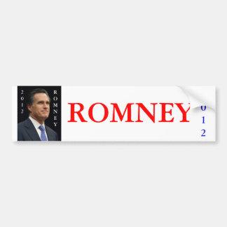 2012 Romney Car Bumper Sticker