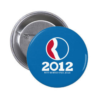2012 Romney Ryan 6 Cm Round Badge