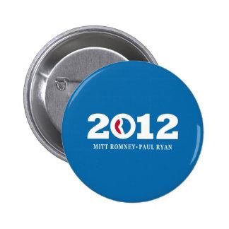 2012 Romney Ryan Pin