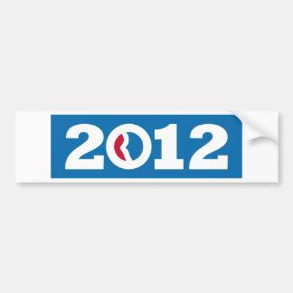 2012 Romney Ryan Car Bumper Sticker