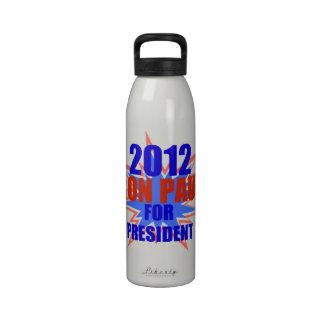 2012 Ron Paul For President Drinking Bottles
