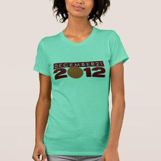 "2012 Shirts T-Shirts Clothing ""12/21/2012"" Womens"