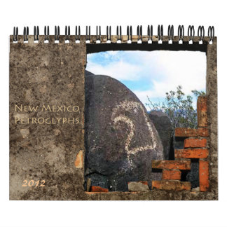 2012 Southwest New Mexico Petroglyphs Calendar