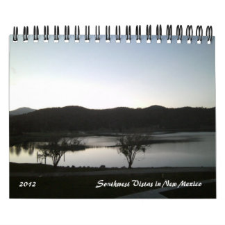 2012 Southwest Vistas in New Mexico Calendar
