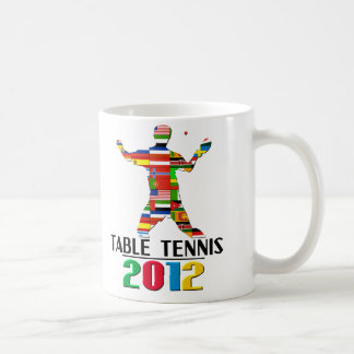 2012: Table Tennis Basic White Mug