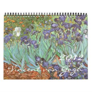 2012 Vincent van Gogh Calendar