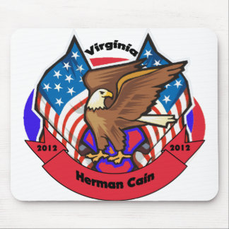 2012 Virginia for Herman Cain Mouse Pads
