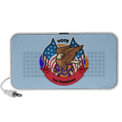 2012 Vote for Jon Huntsman iPod Speakers