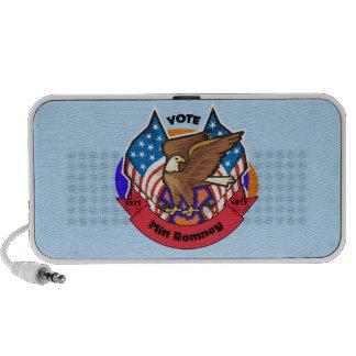 2012 Vote for Mitt Romney Mini Speaker