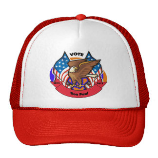 2012 Vote for Ron Paul Mesh Hat
