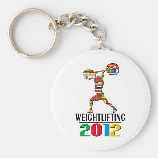 2012: Weightlifting Keychains