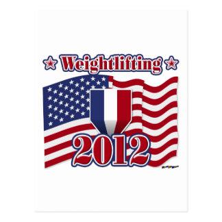 2012 Weightlifting Postcard