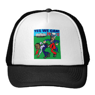 2012 YES WE CAN MESH HAT