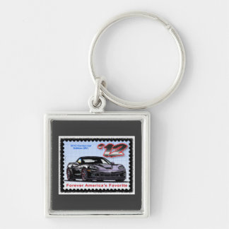 2012 Z06 Centennial Edition Corvette Key Ring