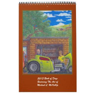 2013 Book Of Days Calender Wall Calendar