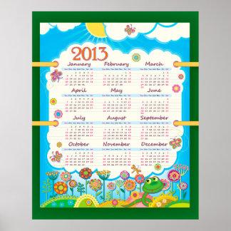2013 Calendar 3 Poster