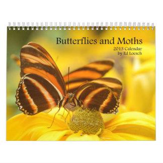 2013 Calendar - Butterflies and Moths