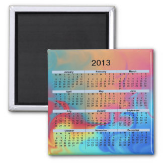 2013 Calendar Fire and Ice Magnet