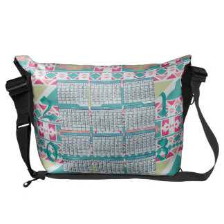 2013 Calendar Messenger Bag
