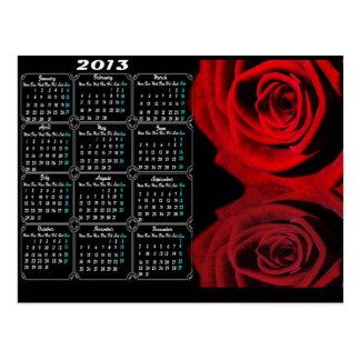 2013 Calendar Postcards