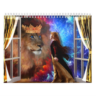 2013 calendar  prophetic art by Dolores DeVelde