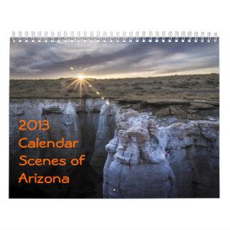 2013 Calendar - Scenes of Arizona