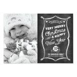 2013 CARD LINK BELOW | Chalkboard 2012 Christmas