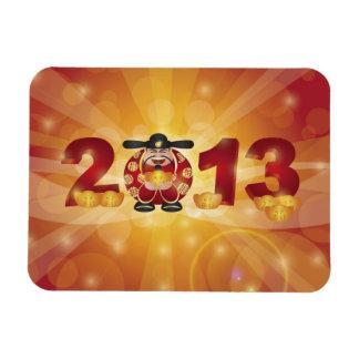 2013 Chinese New Year Money God Magnet