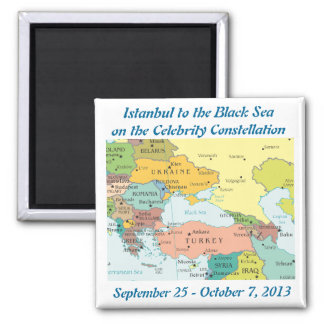 2013 Constellation Black Sea Cruise fridge magnet