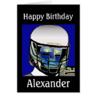 2013 Cute Kids Football Personalised Birthday Card