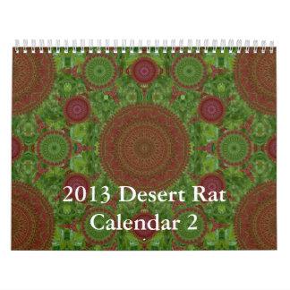 2013 Desert Rat Calendar 2