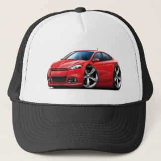 2013 Dodge Dart Red Car Trucker Hat