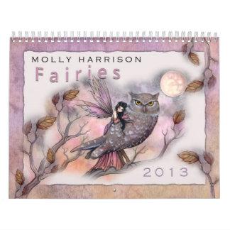 2013 Fairy Calendar by Molly Harrison