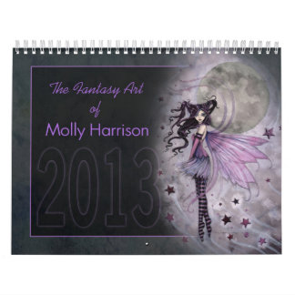 2013 Fantasy Art Calendar by Molly Harrison