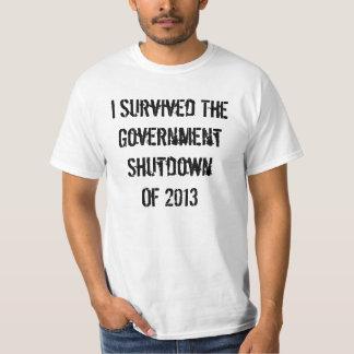 2013 Government Shutdown Tees
